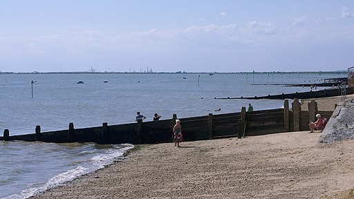 Southend to Leigh on Sea Walk Route