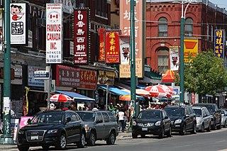 Chinatown, Toronto Neighbourhood in Toronto, Ontario, Canada