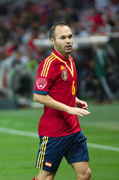 File:Spain - Chile - 10-09-2013 - Geneva - Andres Iniesta 1.jpg