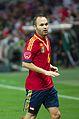 Spain - Chile - 10-09-2013 - Geneva - Andres Iniesta 1.jpg