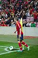 Spain - Chile - 10-09-2013 - Geneva - Andres Iniesta 5.jpg