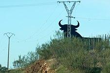 Spainish bull sign (13350696673).jpg