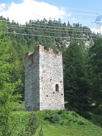 Burgturm Spaniola