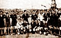 Spanish national football team before the friendly match against Czechoslovakia in Prague, 14.06.1930.jpg