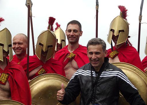 Spartanie dzieciom i Robert Korzeniowski (8742135640)