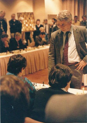 Boris Spassky - Spassky in 1989