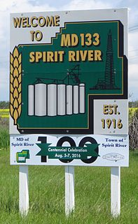 Municipal District of Spirit River No. 133 Municipal district in Alberta, Canada