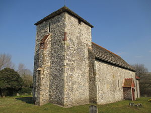 Botolphs - Image: St. Botolph's church, Botolphs, West Sussex
