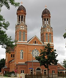 St. Francis Xavier Cathedral, Green Bay, Wisconsin (cropped).jpg