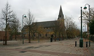 The Meadows, Nottingham - St Saviour's in the Meadows.