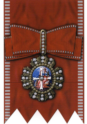 Order of Saint Catherine the Great Martyr - Image: St Ekaterina RF1