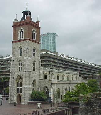 St Giles-without-Cripplegate - Current photo of St Giles-without-Cripplegate