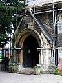 St George, Castle Way, Hanworth - Porch - geograph.org.uk - 1750734.jpg