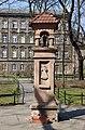 St Gertrude wayside shrine, Planty Garden, sw. Gertrudy street, Old Town, Krakow, Poland.jpg