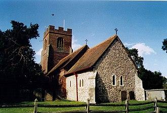 Ruscombe - Image: St James, Ruscombe geograph.org.uk 1525480