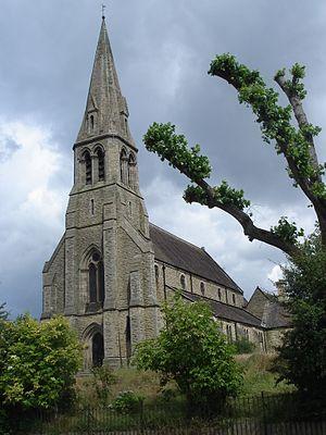Emmeline Pankhurst - St Luke's Church, Pendleton