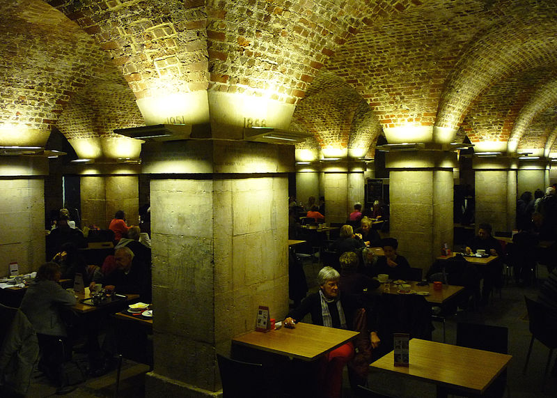 hit the Crypt cafe after a free concert at St Martin in the Fields. From London on the Cheap