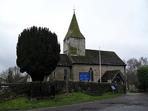 St Mary's Church, West Chiltington - The church from the northeast