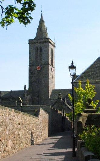 Ancient universities of Scotland - St Salvator's Chapel, St Andrews