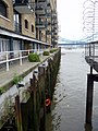 St Saviour's Dock with Tower Bridge in distance - geograph.org.uk - 1705772.jpg