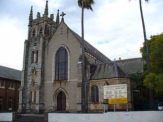 Lewisham, New South Wales - St. Thomas Becket's Church Lewisham