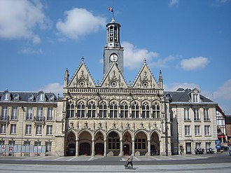 Saint-Quentin, Aisne - Town hall