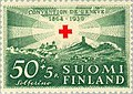 Stamp of Finland - 1939 - Colnect 45890 - Red Cross over the Solferino Battlefield.jpeg