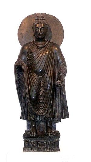 Standing Buddha - Standing Buddha, National Museum, New Delhi.
