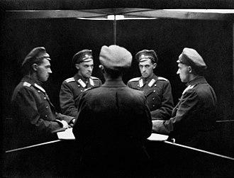 Stanisław Ignacy Witkiewicz - Stanisław Ignacy Witkiewicz, Multiple self-portrait in mirrors, 1915–1917
