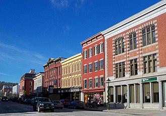 Montpelier Historic District (Vermont) - State Street view
