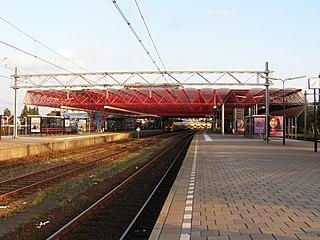 Zaandam railway station railway station