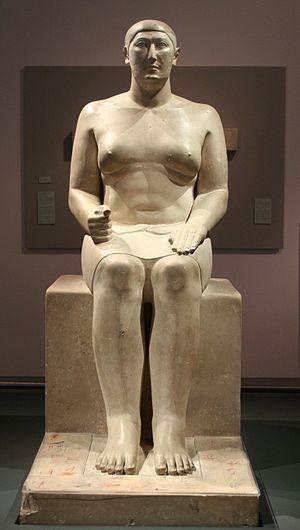 Roemer- und Pelizaeus-Museum Hildesheim - Image: Statue of Hemiun