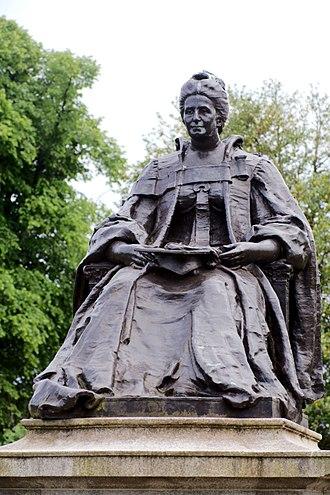 Isabella Elder - Statue of Isabella Elder, Elder Park, Govan, Glasgow