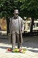 Statue of Jonas Vileišis in Liberty Avenue, Kaunas. .jpg