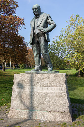 Woodford Green - Winston Churchill was MP for Woodford, and is commemorated by a statue on Woodford Green.