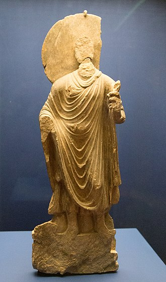 Mes Aynak - Statue of the Buddha, Mes Aynak, 3rd-6th century CE.