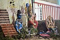 Statues of Hindu Gods at Prakasam Barage.jpg
