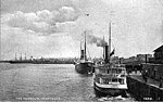 Steamer JOAN in the Vancouver Harbour, British Columbia, circa 1905 (AL+CA 2056).jpg