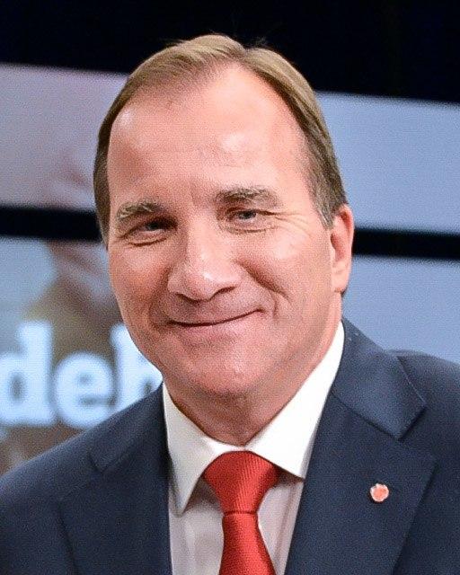 Stefan L%C3%B6fven efter slutdebatten i SVT 2014 (cropped)