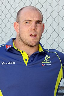 Stephen Moore (rugby union) Australian rugby union player
