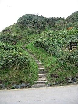 Steps on the Llŷn Coastal Path-Llwybr Arfordir Llŷn - geograph.org.uk - 949714
