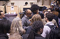Stevie Wonder and fans, NAMM 2013 day 3.jpg