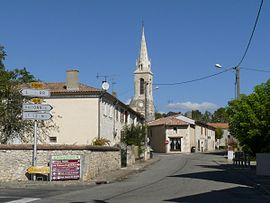 Skyline of Saint-Germain-d'Esteuil