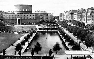 Heike Hanada - Stockholm Public Library, The Asplund Building, c. 1930