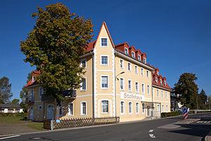 Freiberg - Stollnhaus in Zug