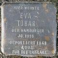 Stumbling block for Eva Tobar (Bobstrasse 2)