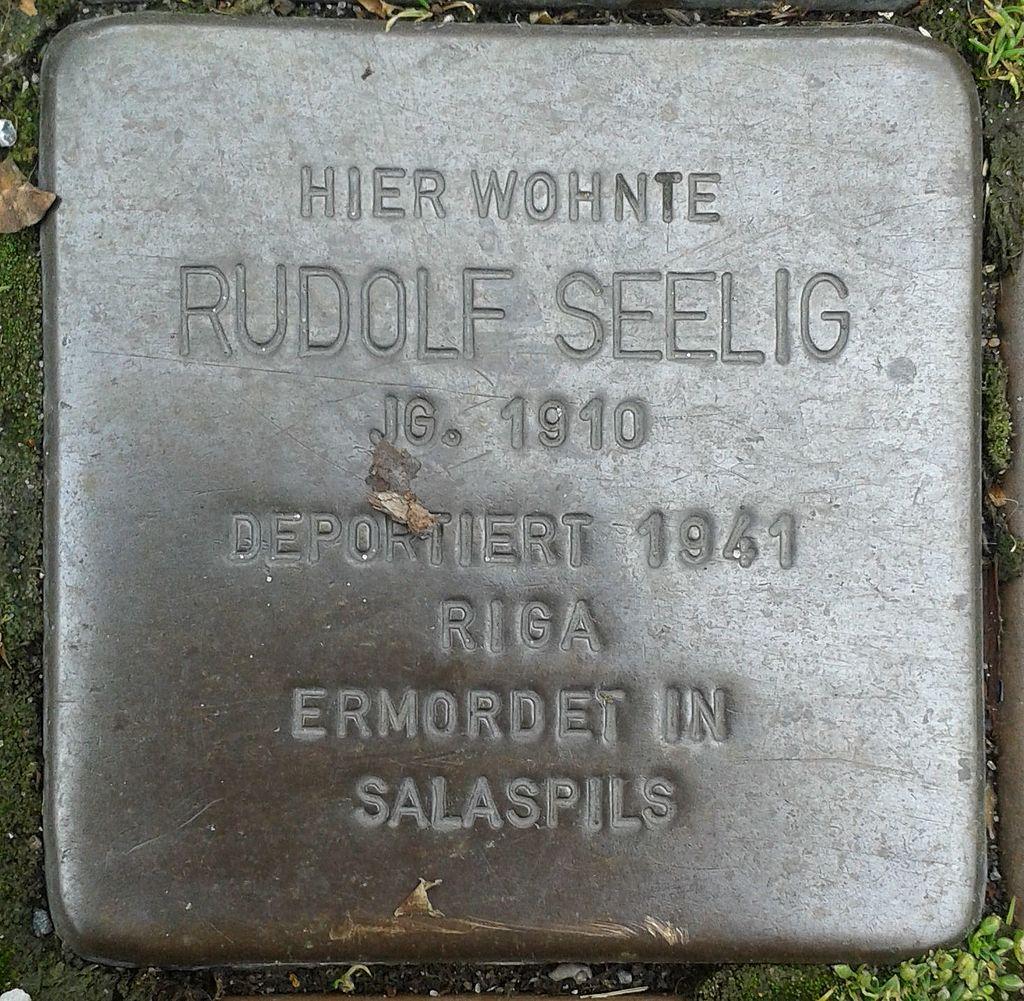 Stolperstein Drensteinfurt Hammer Straße Rudolf Seelig