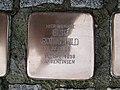 Stolperstein Else Rothschild, 1, Karl-Albert-Straße 25 - 31, Bornheim, Frankfurt am Main.jpg