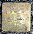 Stolperstein Fehrbelliner Str 20 (Mitte) Charlie Wisen.jpg