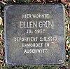 Stolperstein Markgrafenstr 22 (Frohn) Ellen Grün.jpg
